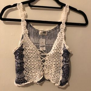LF crocheted top